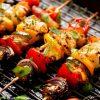 Bò nướng xiên rau củ Đà Lạt là 1 trong các món ăn uống bia hoặc nhấm rượu vang cực đã