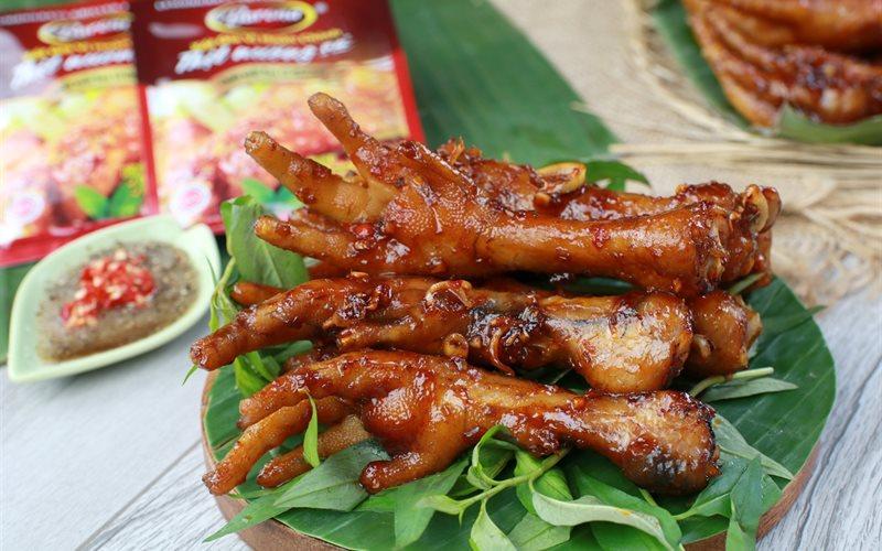 Món nướng ngon Đà Lạt chân gà nướng món ăn nhẹ của thực khách muốn nhâm nhi