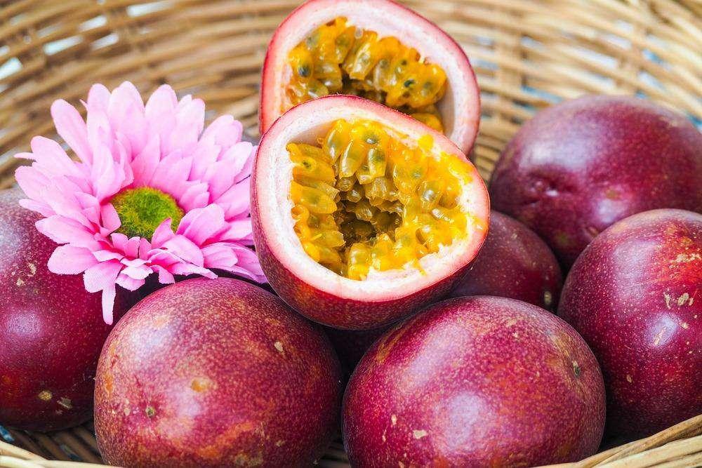 Chanh dây trái cây thơm ngon