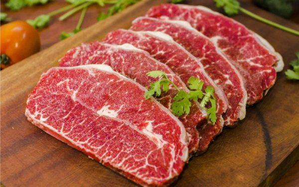 thịt bò giàu chất dinh dưỡng