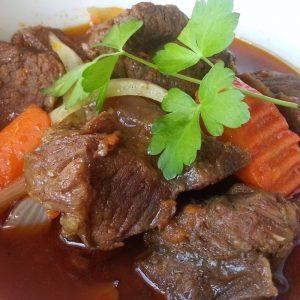 Món ăn được chế biến từ thịt bò