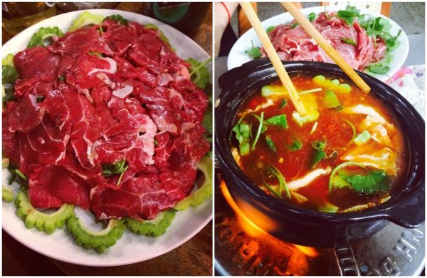 Món ngon nhà hàng Memory bò sốt tương Hàn Quốc