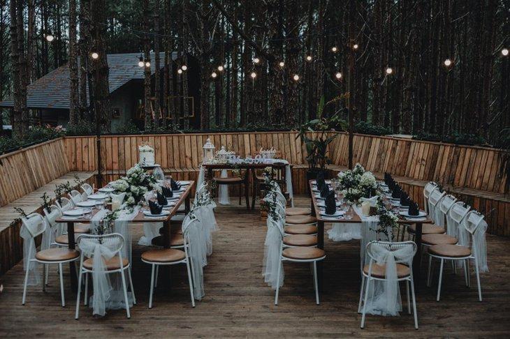 Tiệc cưới ngoài trời Teracotta không nên bỏ lỡ