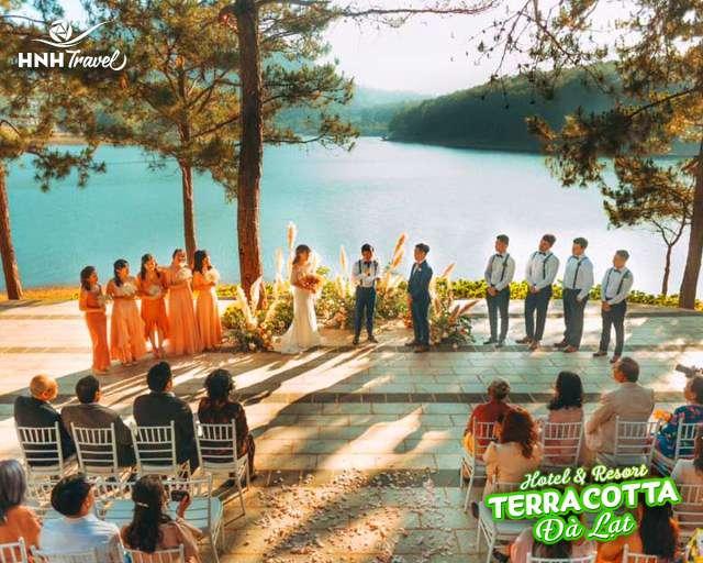 Teracotta địa điểm tổ chức tiệc cưới ngoài trời đẹp nhất Đà Lạt