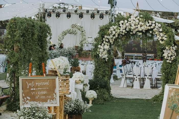 Địa điểm tổ chức tiệc cưới ngoài trời đẹp nhất Đà Lạt
