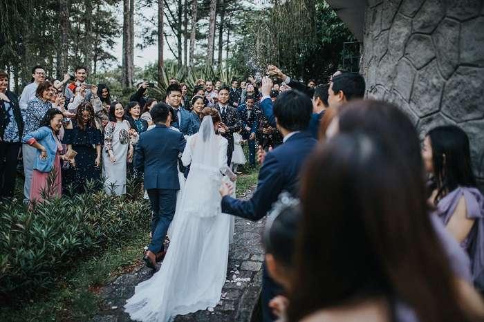 Tiệc cưới ngoài trời đẹp nhất Đà Lạt vô cùng lãng mạn