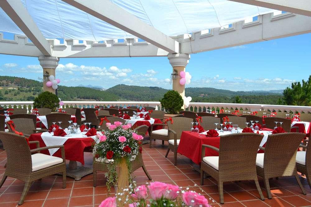 Thiên đường tổ chức Dalat Edensee lake resort & spa nơi tổ chức tiệc cưới ngoài trời thơ mông lãng mạn