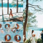 Hình ảnh tiệc cưới ngoài trời đà lạt