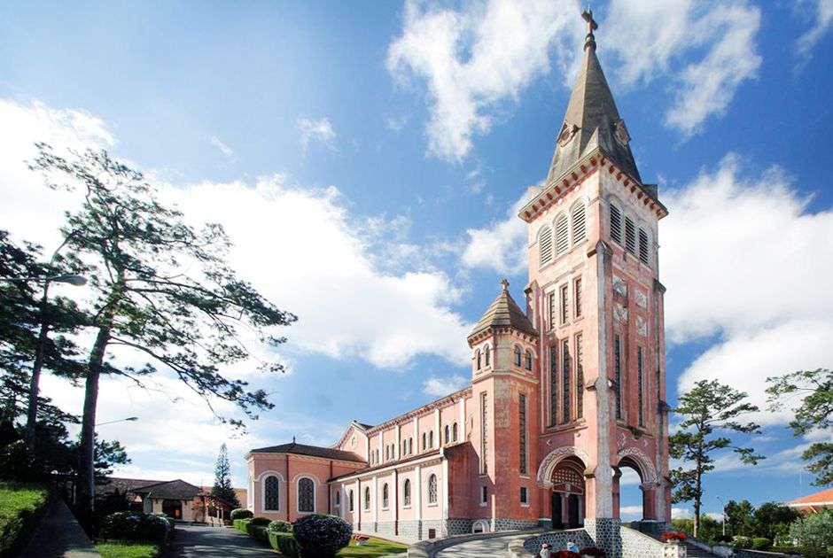 nhà thờ đẹp nhất Đà Lạt