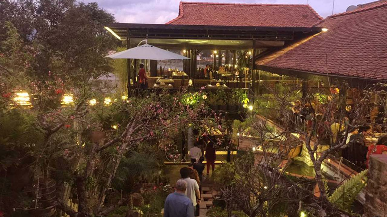 Nhà hàng Sông Mây - nhà hàng view đẹp nhất Đà Lạt